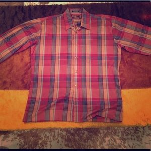 Men's Plaid shirt (Medium)